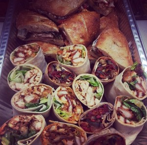 Jersey' Catering Assorted Wraps & Panini's